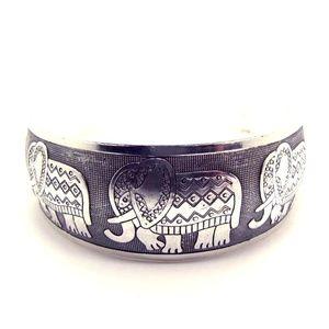 Jewelry - Elephant Tibetan Cuff Bracelet